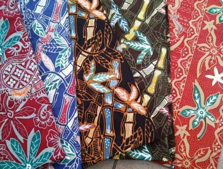 Kain Batik Motif Batik Cimahi