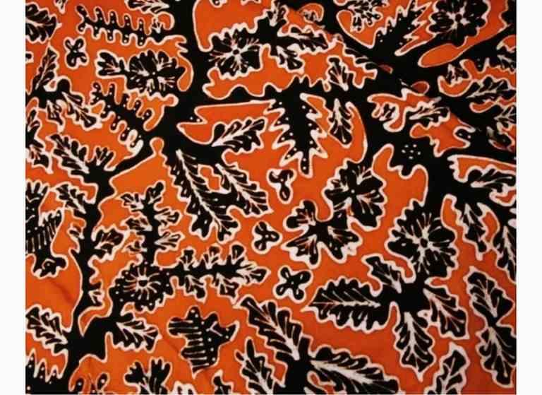 Kain Batik Motif Batik Minangkabau