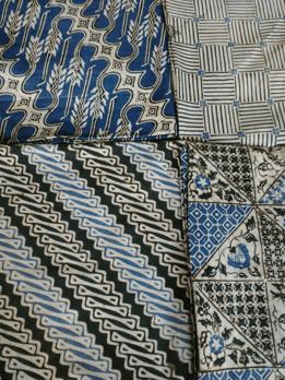 Kain batik cap solo dalam contohnya di Batikdlidir