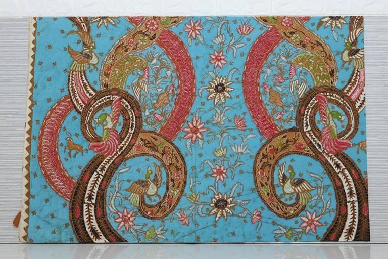 Kain batik murah Handprint untuk seragam