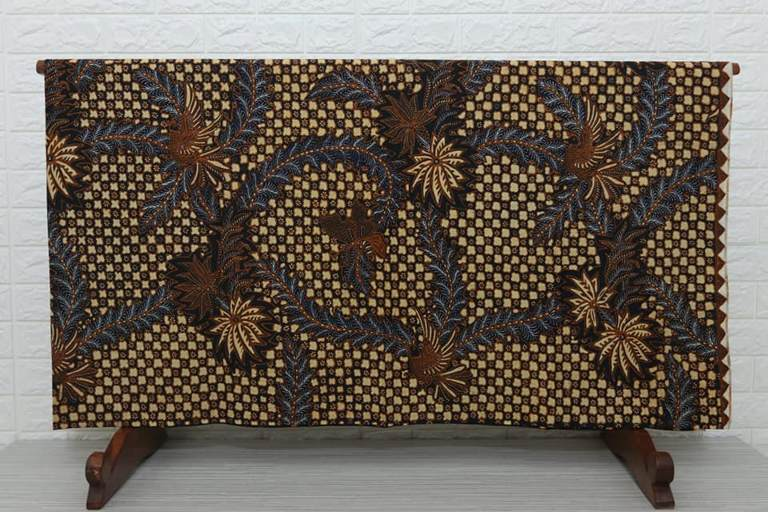 Seragam batik kantoran Bandung dengan bahan 100 % katun