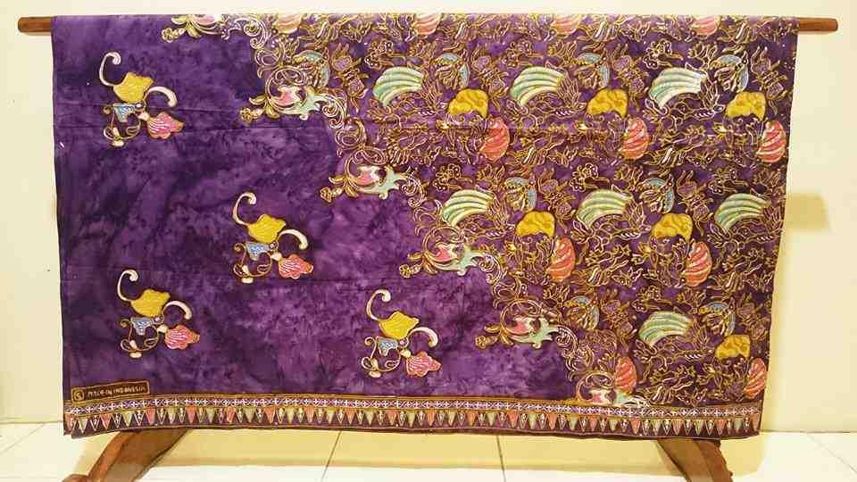 Tehnik pembuatan kain batik menggunakan double cap dan tulis ( Cuwiri )