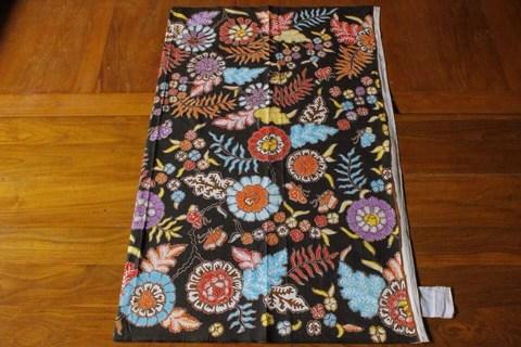 batik tulis flora di Batikdlidir