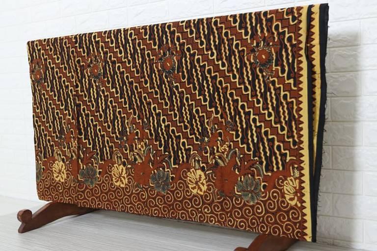 Batik modern di Batikdlidir tehnik pembuatan handprint