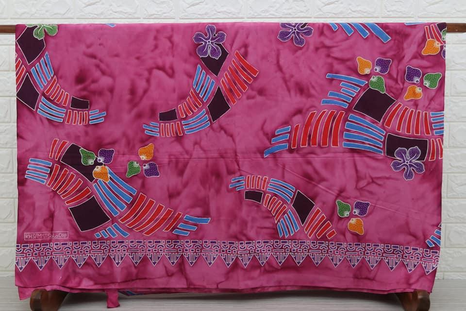 Batik modern wanita dengan warna yang soft dan harga murah