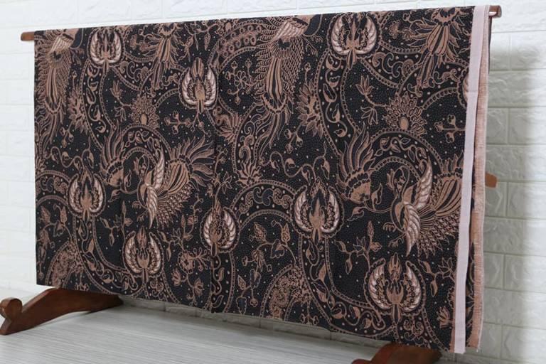 Batik modern pria lengan panjang di Batikdlidir kualitas katun asli 1