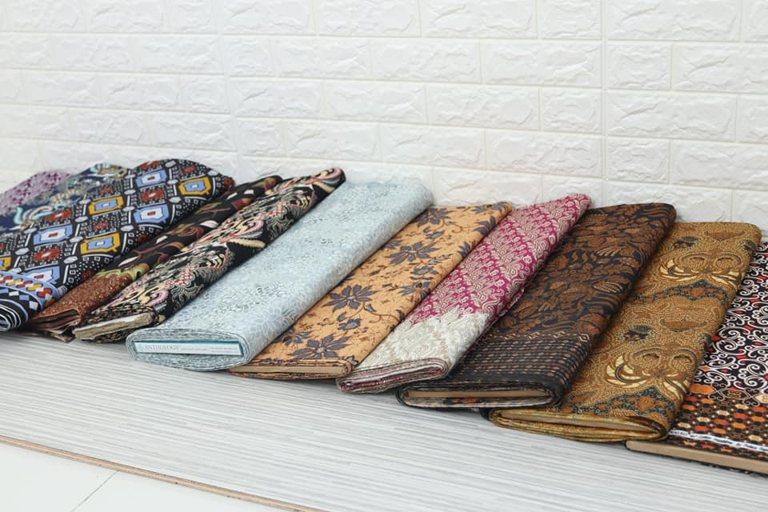 Jual Kain Batik Modern bahan katun de