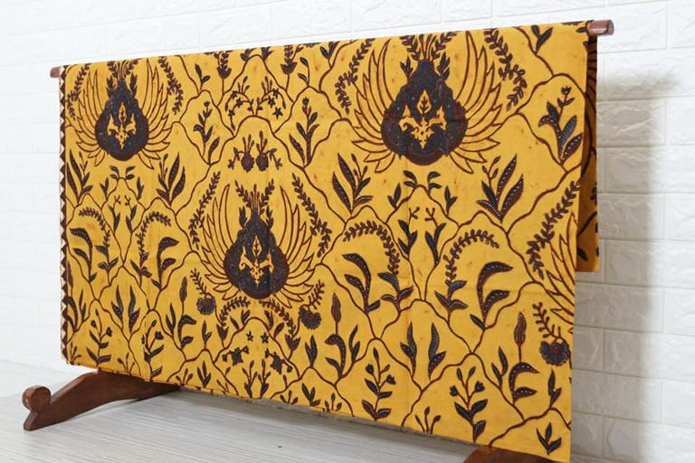 Jual kain batik tulis jokowi asli motif watu gunung