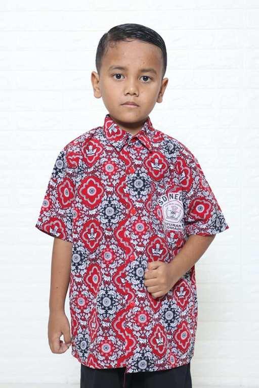 Seragam Batik Sd Murah Dengan Katun Asli Contoh Motif Seragam