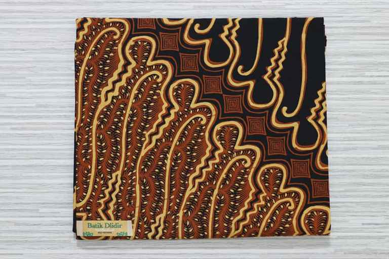 Seragam batik kantoran Jakarta bahan katun asli