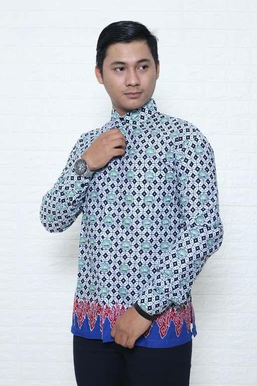 Seragam batik guru modern Batikdlidir