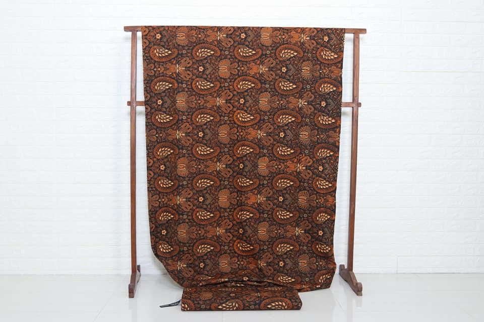 Jual kain batik modern bahan katun