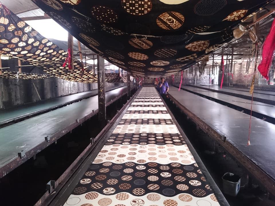 pabrik kain batik di Solo