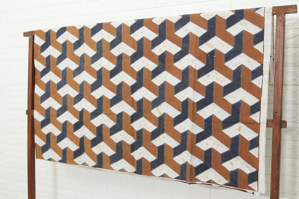 kain batik solo modern