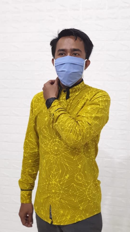 Grosir Masker kain hijab ready stok harga Rp 3.500,- per pcs