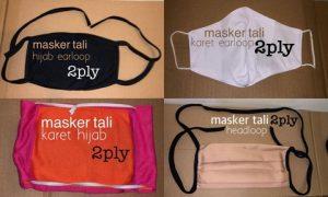 Harga masker kain mulai Rp 1.000,- per pcs dengan jahitan yang berkualitas.