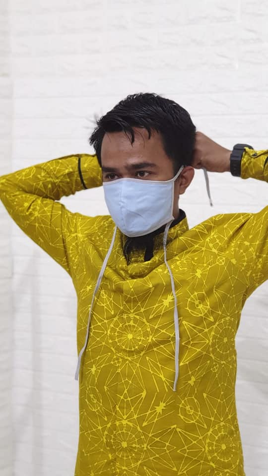 Harga masker kain mulai Rp 2.500,- per pcs