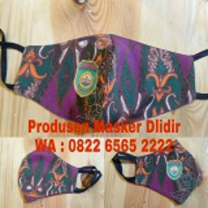 masker batik model scuba