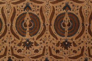 kain batik sogan solo