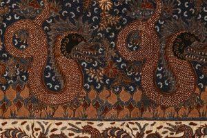 kain batik tulis klasik madura motif Rojo Nogo