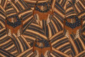 Batik nusantara motif sarimbit merak
