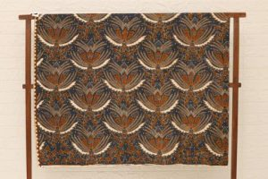 Batik tulis Cirebon motif pisang bali beras kecer
