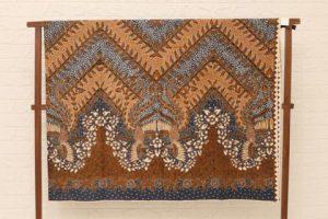 Batik Tulis Modern Cilegon Peksi Galar Duri Ikan